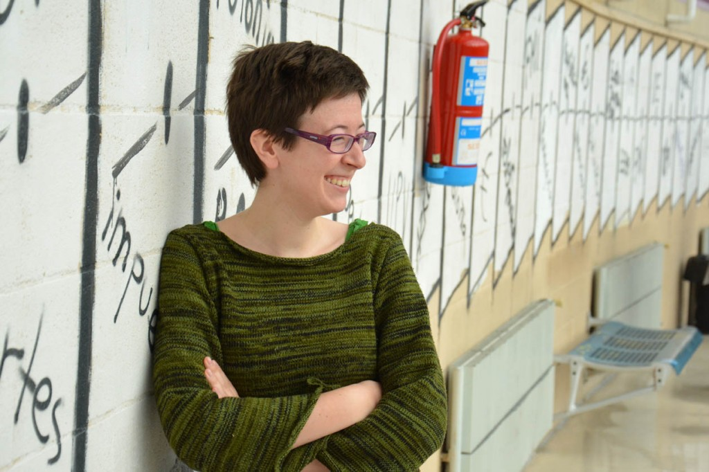 Teresa Jareño, winner of the artistic scholarship of in Antarctica
